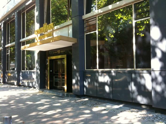 Der Unternehmenssitz der Contipark Unternehmensgruppe in der Berliner Rankestraße.