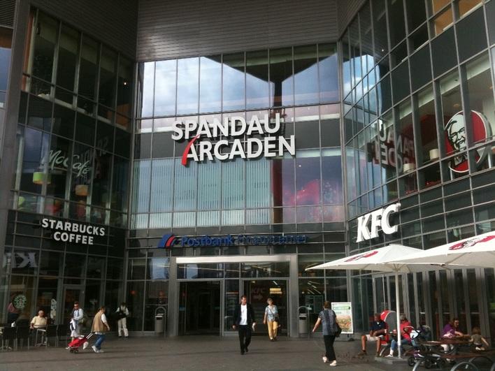 Spandau Arcaden in Berlin - KAUPERTS