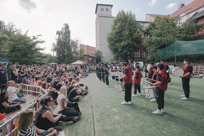 Fête de la Musique - Berlin am 21. Juni 2016: BÄM @ YAAM
