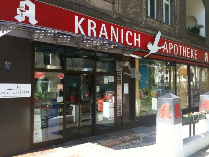 Kranich-Apotheke am Theodor-Heuss-Platz