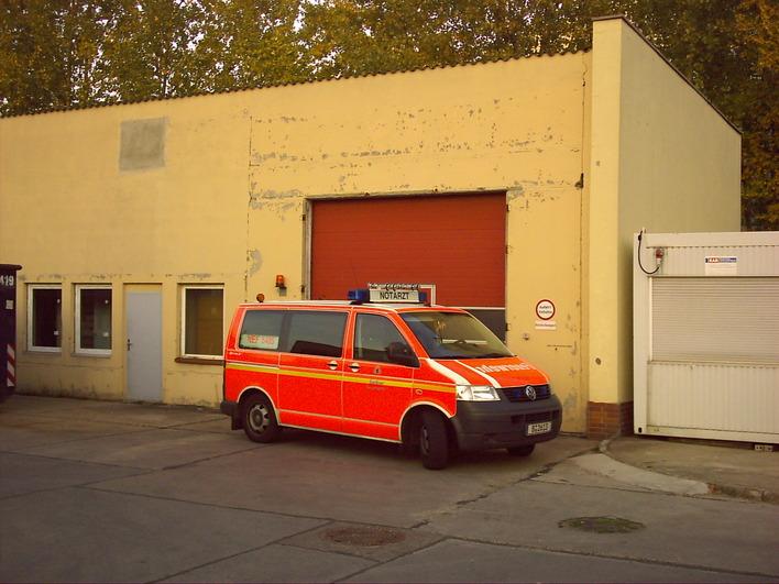 Notarzteinsatzfahrzeug Köpenick