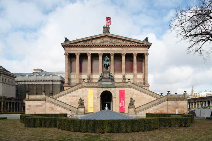 Alte Nationalgalerie, Museumsinsel Berlin-Mitte