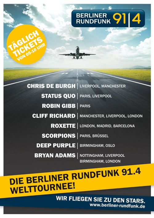 Berliner Rundfunk 91.4 - Welttournee