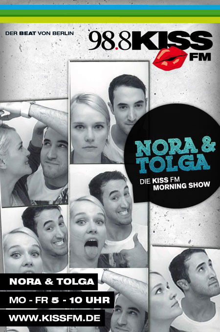 Nora & Tolga auf 98.8 KISS FM