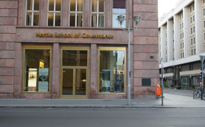 Hertie School of Governance in der Friedrichstraße