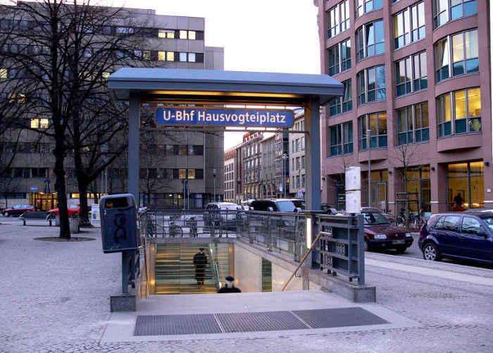 U-Bahnhof Hausvogteiplatz (U2)