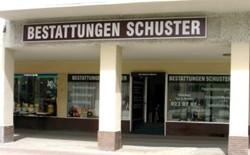 Ladengeschäft Bestattungen Schuster