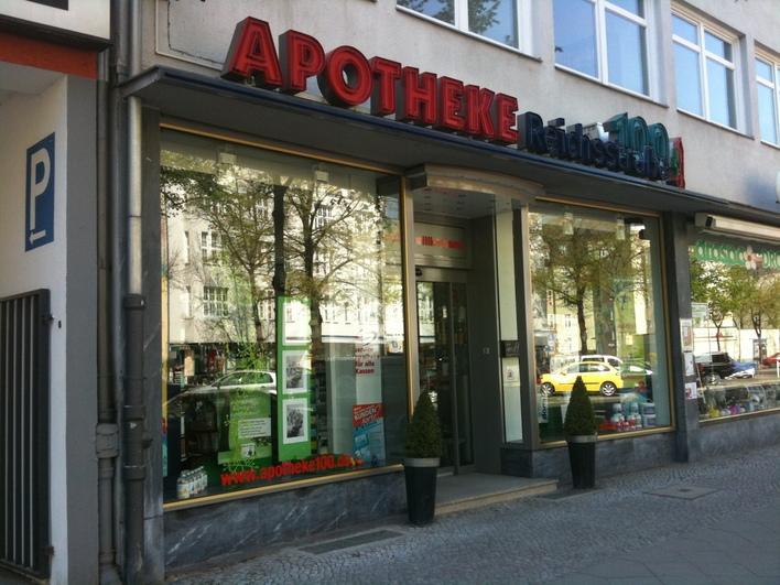 Ihre persönliche Apotheke in der Reichsstraße 100