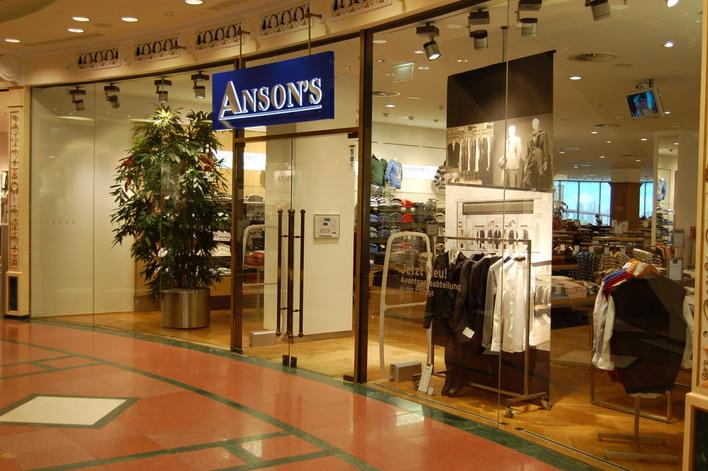 Anson's im Einkaufszentrum das Schloss