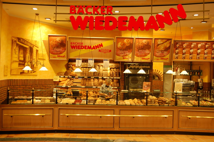 Bäckerei Wiedemann im Einkaufszentrum das Schloss