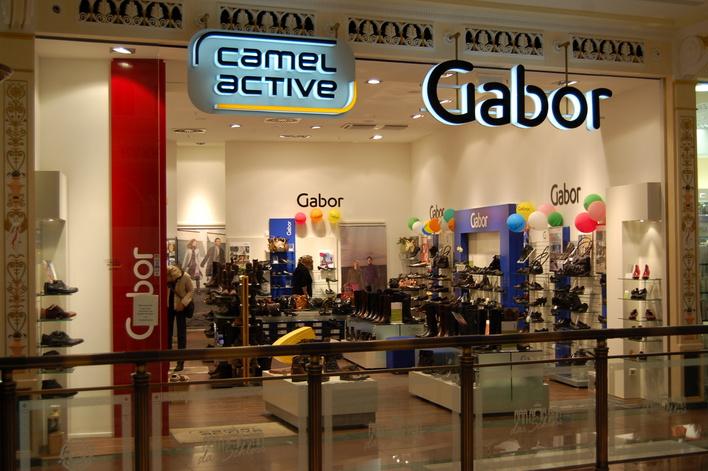 Gabor im Einkaufszentrum das Schloss