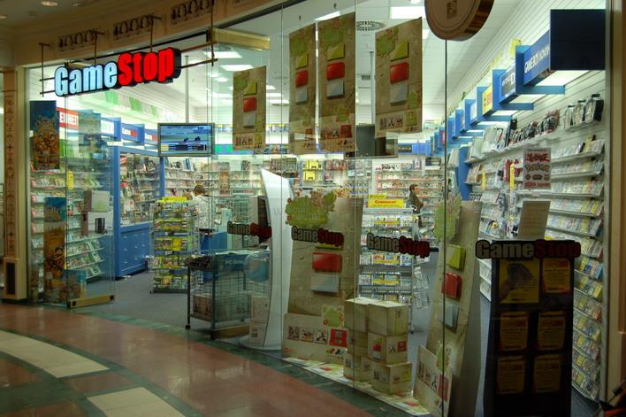 GameStop im Einkaufszentrum das Schloss