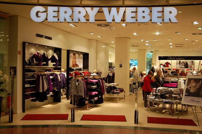 Gerry Weber im Einkaufszentrum das Schloss