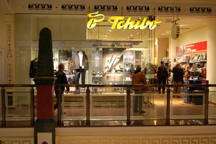 Tchibo im Einkaufszentrum das Schloss
