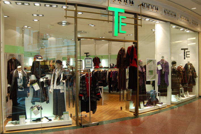 TE Textilforum im Einkaufszentrum das Schloss