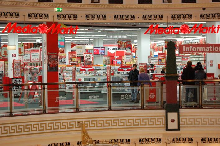 MediaMarkt im Einkaufszentrum das Schloss
