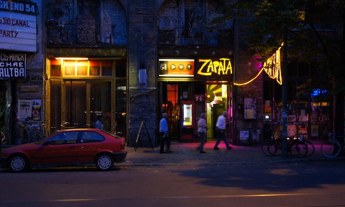Cafe Zapata im Kunsthaus Tacheles