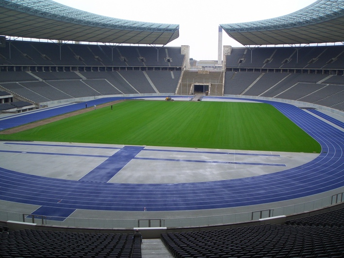 hertha bsc fanshop olympiastadion sportgesch ft in berlin westend kauperts. Black Bedroom Furniture Sets. Home Design Ideas