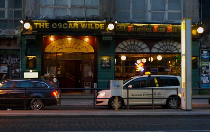 The OSCAR WILDE - Irish Pub in der Friedrichstraße