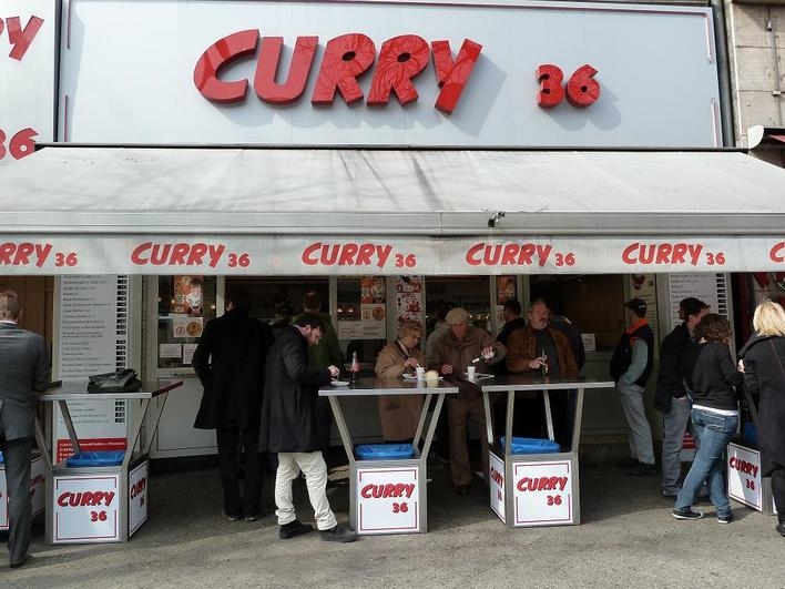 Curry 36 Imbiss In Berlin Kreuzberg Kauperts