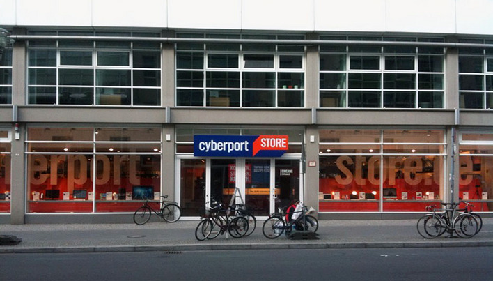 cyberport store mitte computer in berlin mitte kauperts. Black Bedroom Furniture Sets. Home Design Ideas
