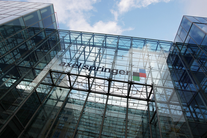 Die Axel-Springer-Passage in Berlin