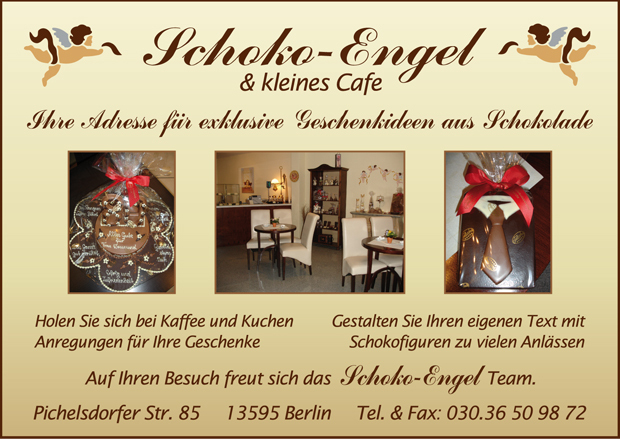 Schoko-Engel & kleines Cafe
