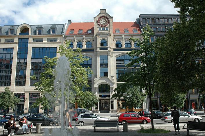 Haus zur Berolina, Sitz der Unternehmenszentrale