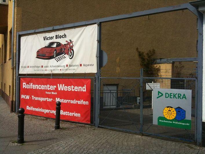Die Werkstatt von Victor Bloch befindet sich in einer Tiefgarage, in die über die Platanenalle Ecke Reichsstraße einzufahren ist.