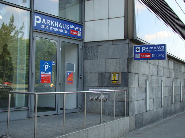parkhaus steglitzer kreisel in berlin steglitz kauperts. Black Bedroom Furniture Sets. Home Design Ideas