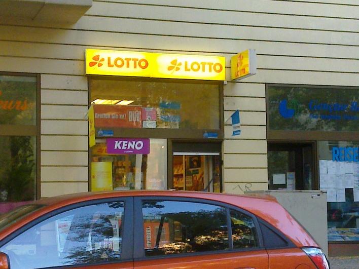 Kiosk in der Güntzelstraße