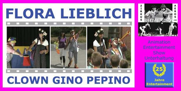 Clown Gino Pepino & Flora Lieblich