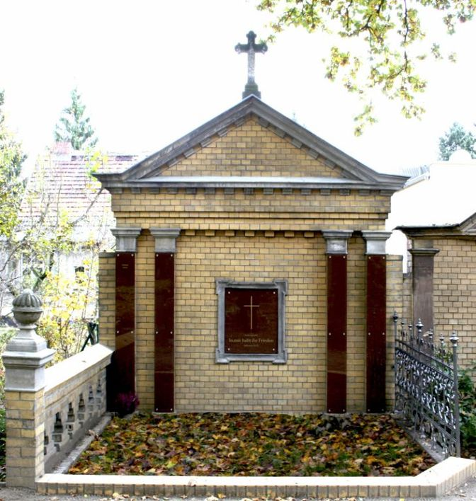 Grabstelle des evangelischen Friedhofs Wilhelmshagen