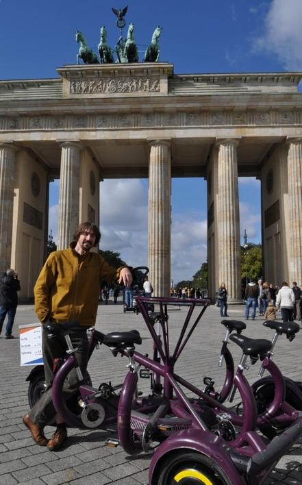 Stadtführung mit dem Conference-Bike
