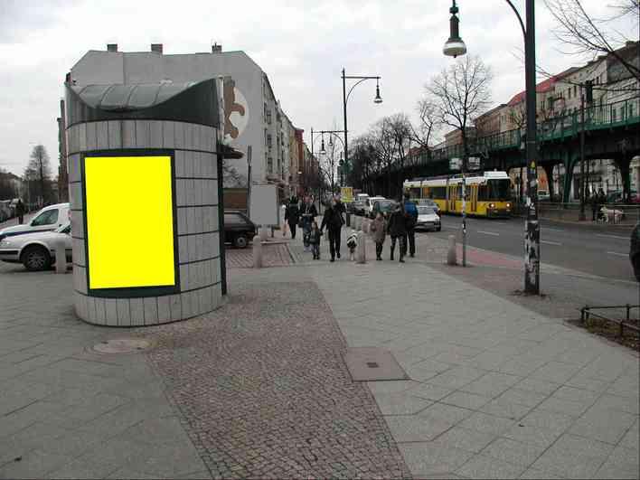City-Toilette Cantianstraße Ecke Schönhauser Allee