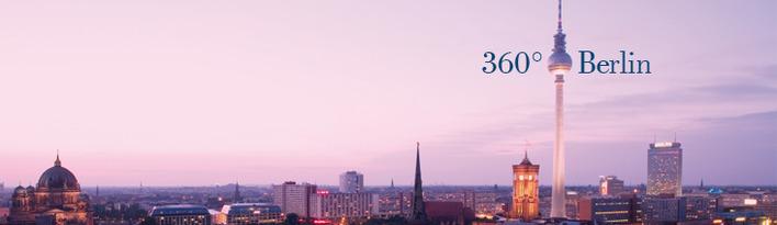Berliner Fernsehturm 360 Grad Berlin