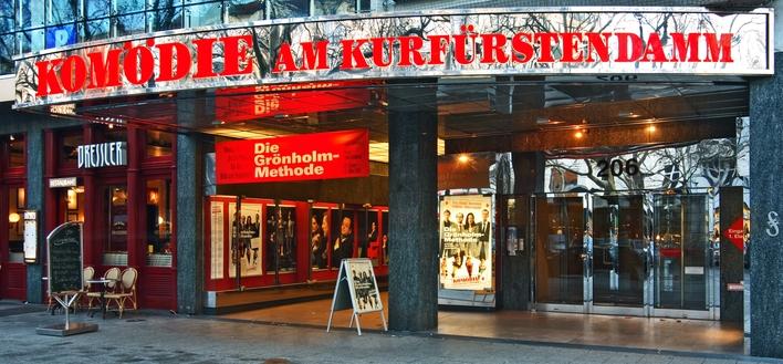 Außenansicht vom Theater und der Komödie am Kurfürstendamm