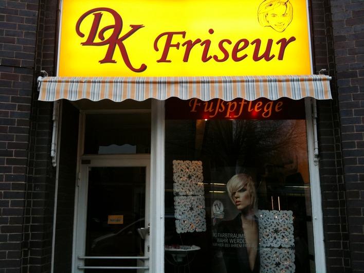 Friseur Kleinschmidt in der Weddinger Müllerstraße
