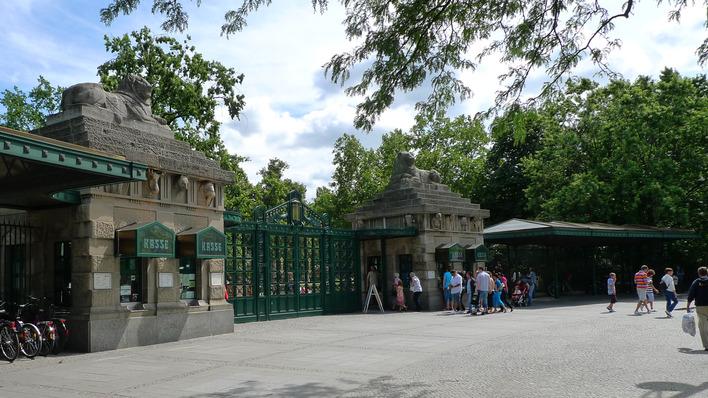 Löwentor des Zoo Berlin