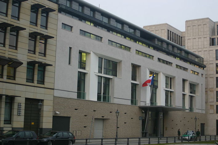 Die Französische Botschaft in Berlin