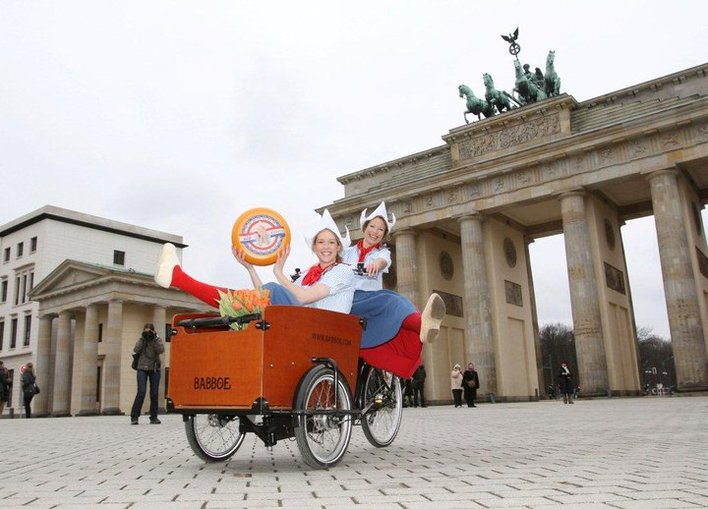 Frau Antje erkundet Berlin - natürlich mit Hilfe der fahrradstation