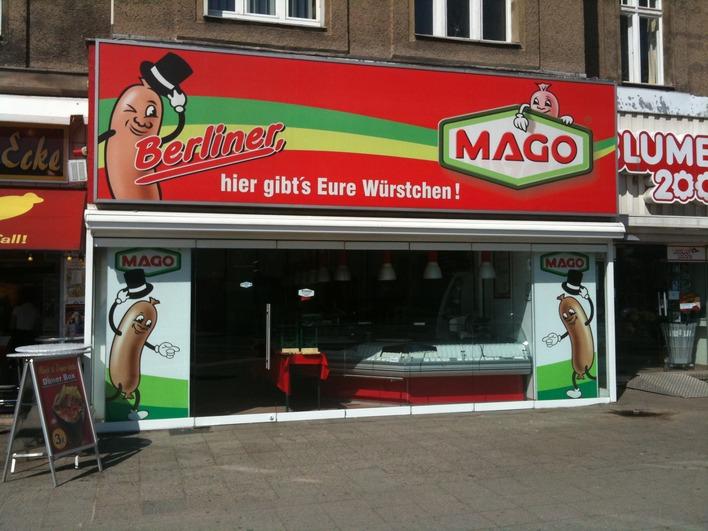 Mago am Theodor-Heuss-Platz in Charlottenburg