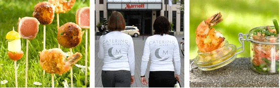Catering the Marriott Way mit Catering by Marriott!