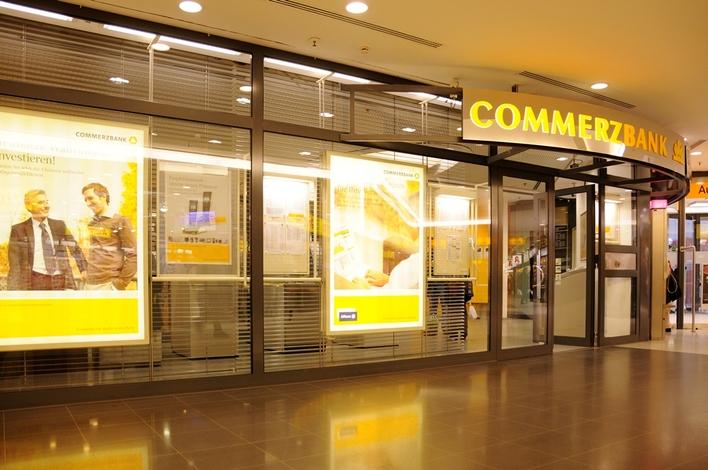 Commerzbank in den Gropius Passagen