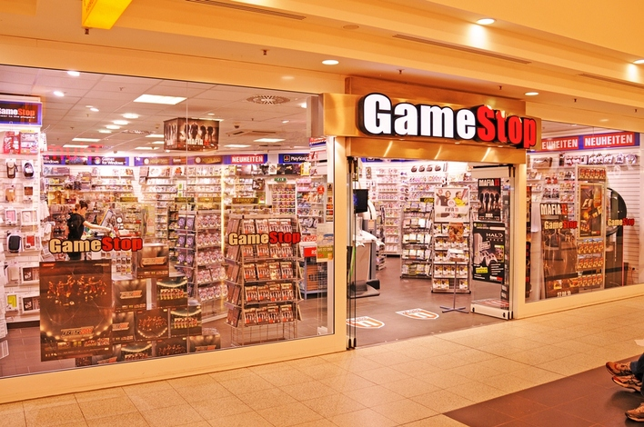 GameStop in den Gropius Passagen