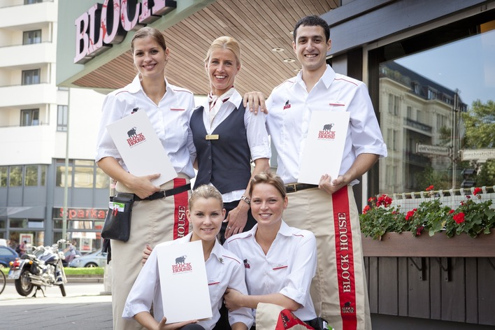Das Team vom Block House Adenauerplatz freut sich auf Ihren Besuch!