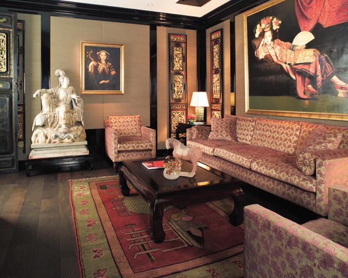 Eine der exklusivsten Adressen der Stadt: der China Club Berlin.