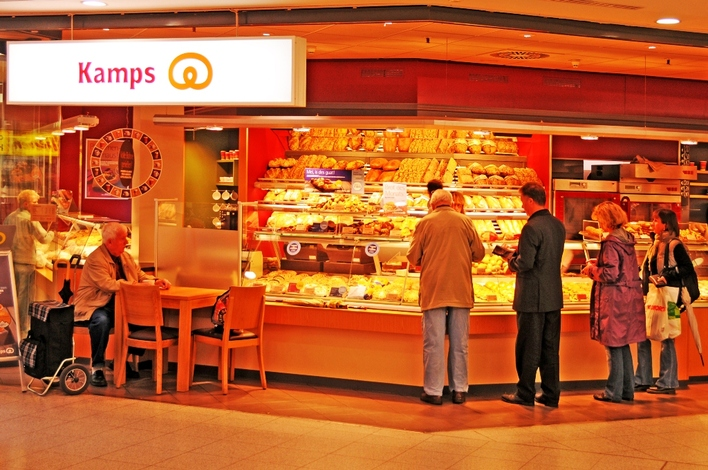 Kamps Bäckerei in den Gropius Passagen