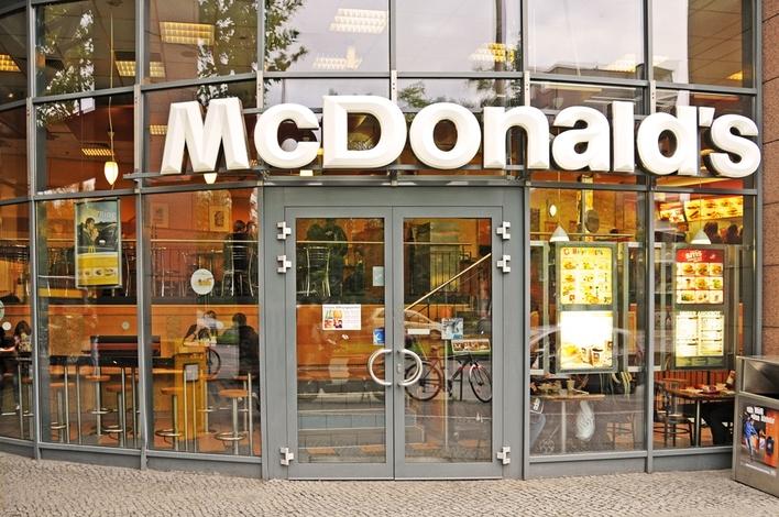 McDonalds in den Gropius Passagen