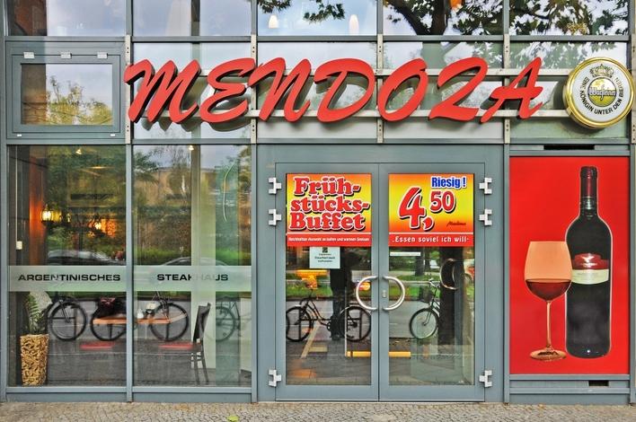 mendoza gropius passagen steakhaus in berlin gropiusstadt kauperts. Black Bedroom Furniture Sets. Home Design Ideas